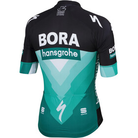 Sportful Team Bora-HG Bodyfit Maillot manches courtes Homme, black-green